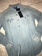 Ralph Lauren Casual Cotton Long Sleeve Denim Shirt Mens Size Medium