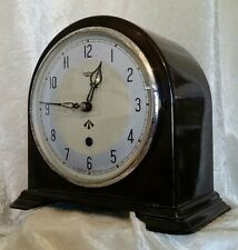 Genuine WW2 British Smiths Enfield Bakelite Mantel Clock RAF Issue MOD RARE