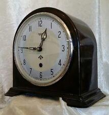 Genuine WW2 British Smiths Enfield Bakelite Mantel Clock RAF Issue MOD RARE