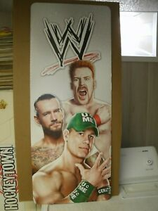 WWE CARDBOARD STORE DISPLAY JOHN CENA CM PUNK SHEAMUS 40X16