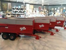 RARE BRITAINS CONVERSION  REDROCK SILAGE TRAILER  FOR TRACTOR SIKU