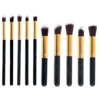 10pcs Pro Makeup Brushes Set Cosmetic Blending Foundation Powder Eyeshadow Brush