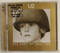U2 The Best Of 1980-1990 2-CD UK 1998 ed. limitada CD fotodisco + libreto