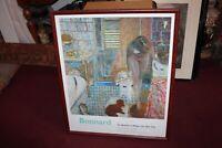 Bonnard Art Gallery Exhibition Poster 1998 Museum Modern Art NY Framed