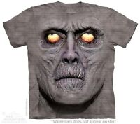 Zombie Portrait T-Shirt by The Mountain. Scary Horror Undead Sizes S-5XL NEW