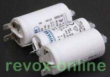 Motorkondensatoren, Betriebskondensatoren, 1x 4µF und 2x5µF,  für Revox B77 MK I