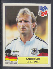 Panini - USA 94 World Cup - # 167 Andreas Brehme - Deutschland (Green Back)