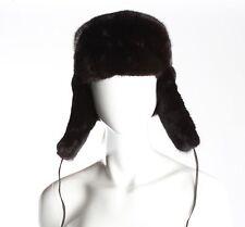 Ranch Mink Fur Trooper Hat