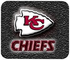 KANSAS CITY CHIEFS MOUSE PAD 1/4 IN. SPORTS FOOTBALL NFL MOUSEPAD