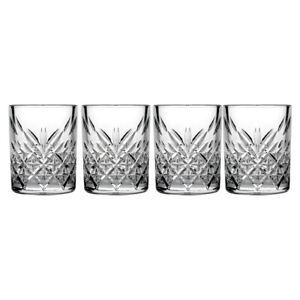 4pc Pasabahce Timeless 60ml Clear Shot Glass Whiskey/Liquor/Tequila Barware Set
