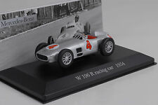 1954 Mercedes-Benz w196 racing car #4 silver 1:43 IXO ALTAYA COLLECTION