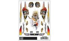 """Pinewood Derby """"Tiger"""" Dry Transfer Decals - PineCar #P4029"""