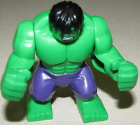 LEGO NEW SUPER HERO THE HULK MINIFIGURE FROM SET 76018 MINIFIG