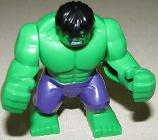 LEGO NEW SUPER HERO THE HULK MINIFIGURE FROM SET 76018 MINIFIG