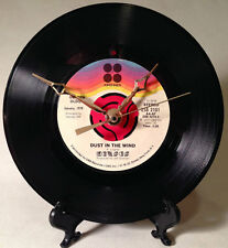 "Recycled KANSAS 7"" Record / Dust In The Wind / Record Clock"