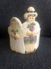 Ceramic Pot With Boy And Girl By Artisans Sigma The Tastesetter