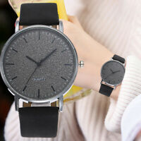 Fashion Women Leather Casual Watch Luxury Analog Quartz Starry Wristwatch