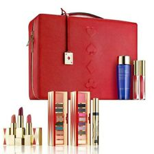 2019 Estee Lauder Blockbuster Holiday Make Up Gift Set Train Case COOL 10 pc