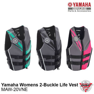 Yamaha Women's Neoprene 2-Buckle Life Jacket PFD Vest Multiple Colors MAW-20VNE