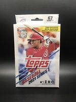 Topps Series 1 2021 Baseball Trading Cards Hanger Box unopened 67 CARDS