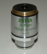 ZEISS A-Plan Objective 10x/1,25 Oil ph3  421091-9912-000 (Ex Sales Demonstrator)