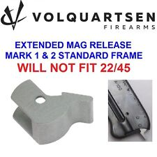 NEW VOLQUARTSEN Silver Extended Magazine Release Ruger MK I II III Mark 1 2 3