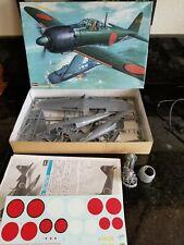 HASEGAWA JAPANESE MITSUBISHI ZERO A6M5C PLANE  LARGE 1/32 SCALE MODEL KIT