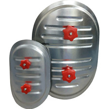 Ventilation Access Doors for Circular Duct - 400 x 300mm for 500mm Diameter Duct