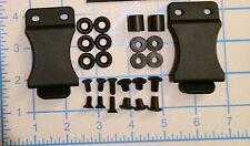 "2 Do It Yourself DIY IWB Holster Hardware Kits 1.5"" Belt Clip .080 Black Kydex"