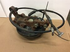 91-02 SATURN RIGHT REAR BRAKE STUB AXLE HUB BEARING KNUCKLE CABLES COMPLETE OEM