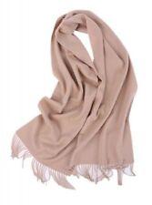 Damen-Schals aus 100% Kaschmir Fransen
