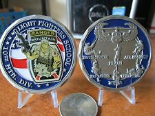 Army Ranger School LFS 10th Mountain Div Fort Drum Air Assault Challenge Coin