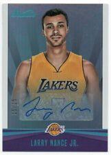 2016-17 Studio Signatures Teal 41 Larry Nance Jr. Auto 15/15 Los Angeles Lakers