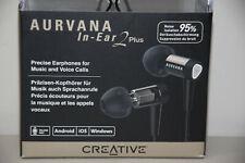 Creative Aurvana EF0670 In-Ear2 Plus In Ear Earphones InEar 2 In-Line Remote Mic
