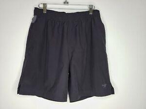 Mens Swim Speedo Tech Volley Water Shorts Trunks Stretch Liner Zipper Pock Small