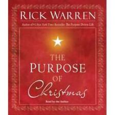 The Purpose of Christmas by Rick Warren (2008, CD, Unabridged)