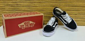 Vans Old Skool Schuhe Sneaker Black White Gr. 6 = 39 Super Zustand