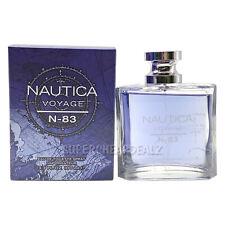 Nautica Voyage N-83 for Men 3.3 oz EDT Spray NIB AUTHENTIC