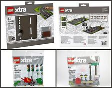 Set of 3 LEGO XTRA 853840 Road Playmat 40311 Traffic Lights 40312 Streetlamps
