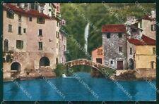 Como Nesso Lago cartolina RB9468