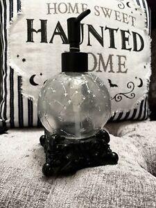 Tkmaxx Halloween Celestial Constellation  Moon Stars Black Soap Dispenser