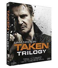 TAKEN TRILOGY - COLLEZIONE SAGA COMPLETA 3 FILM (3 BLU-RAY)  Liam Neeson