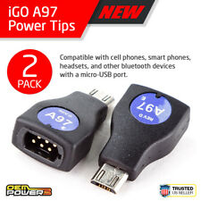 2X iGo Power Tip A97 Micro-Usb Phone Kindle 2 Dx Motorola Razr 2 Q2 V8 V9 Krazr2
