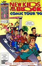 NEW KIDS ON THE BLOCK COMIC TOUR (1990 Series) #2 Very Good Comics Book