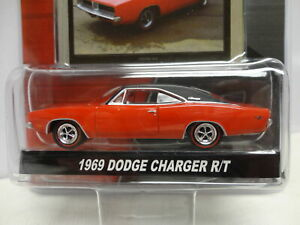 Greenlight 1969 DODGE CHARGER R/T Red '69 w/RR Barrett Jackson SPEED S2