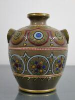 Vase, Sarreguemines,Utzschneider & Cie.,Keramik,Frankreich,Jugendstil,um1900