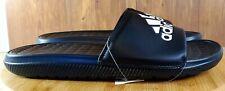 adidas Men's Voloomix Slide Sandal Black/White/Black SIZE 7 CP9446