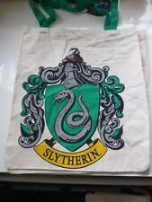 Harry Potter Canvas Tote Bag Scuola di Hogwarts Slytherin CASA NUOVO