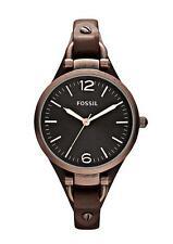 Analoge Fossil Quarz - (Batterie) Armbanduhren für Damen