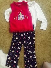 EUC Talbot Kids Girls 3 Piece Outfit Size 5-6- Adorable!!!